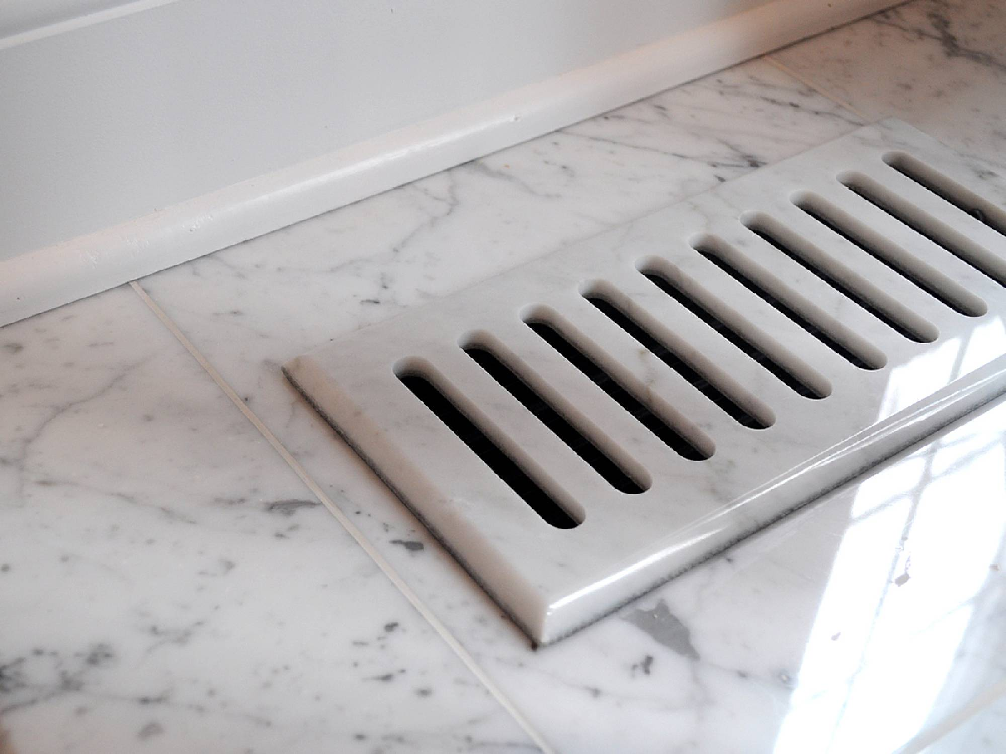 Vent Cover Amp Floor Registers Made With Ceramic Tile Marble
