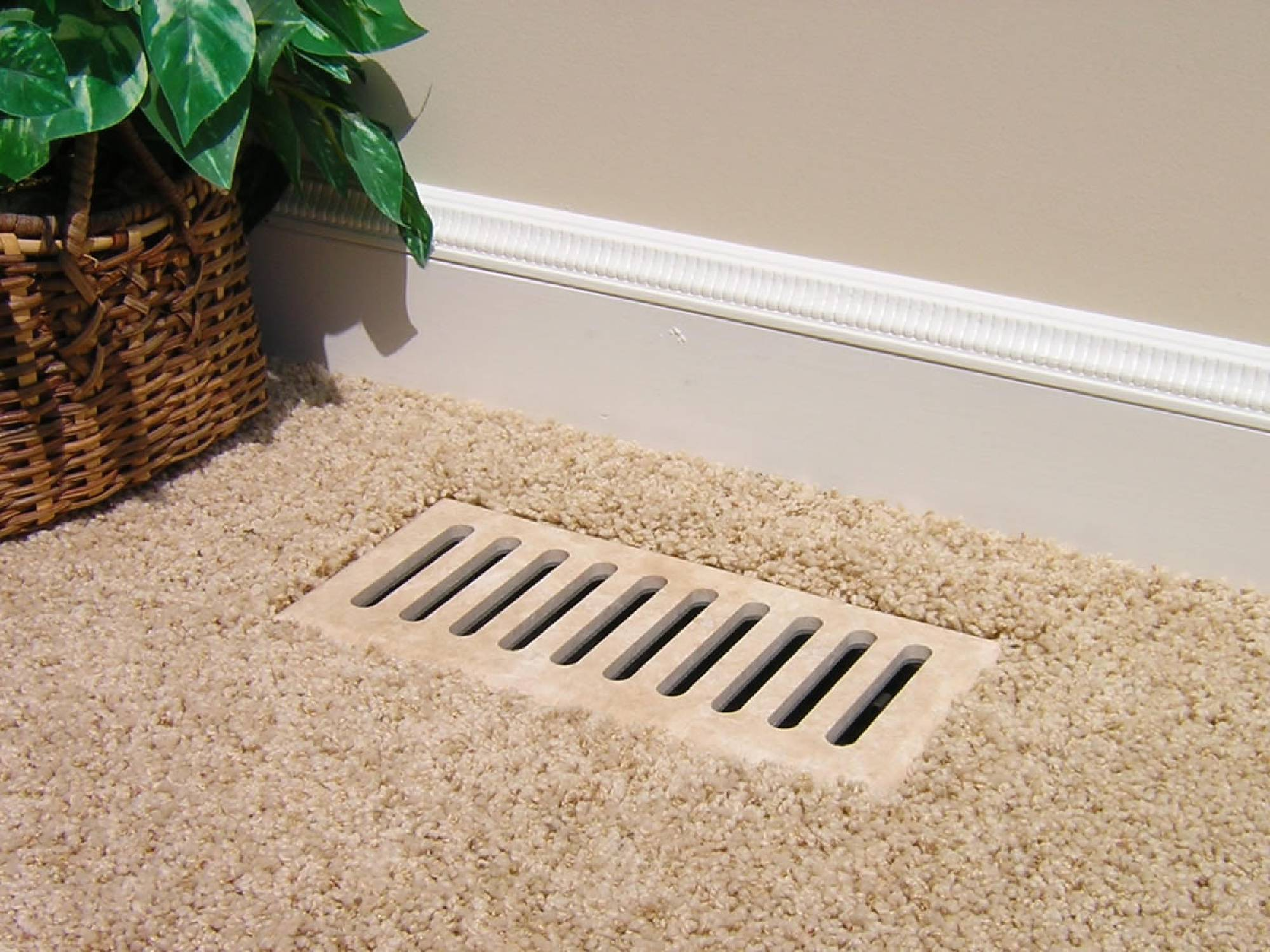Vent Cover Floor Registers Made With Ceramic Tile Marble